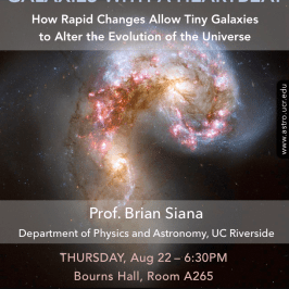 Cosmic Thursdays – Public Talk – Aug 22