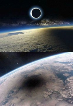 1 eclipse from space