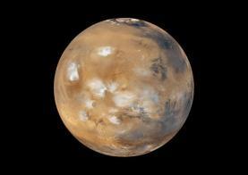 clay on mars