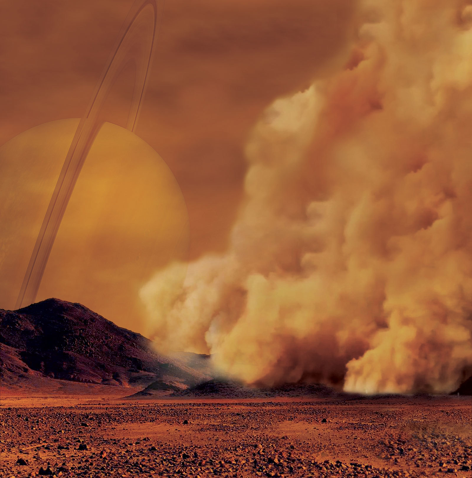 Heading to Titan? Bring a Swiffer!