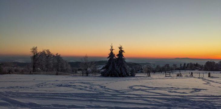 Vogelsberg am 13.02.2021