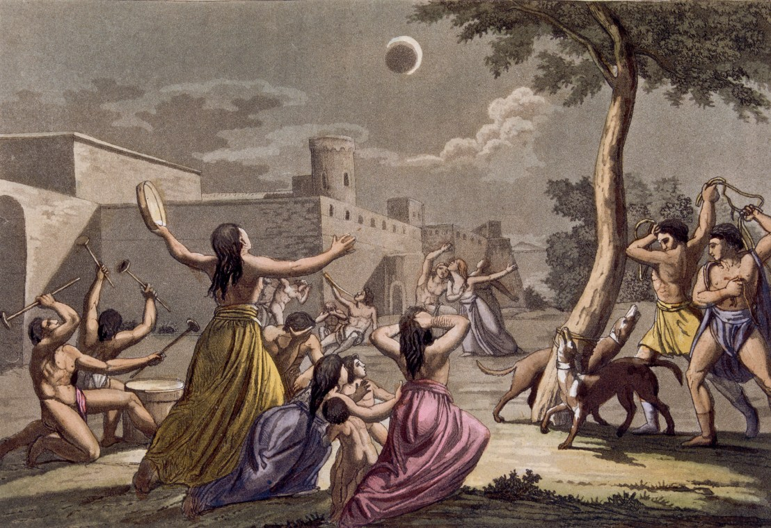 Eclipses in ancient times