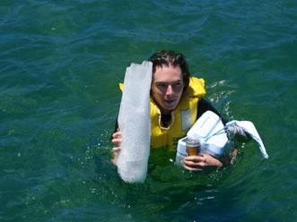 Bob bobbing in the ocean