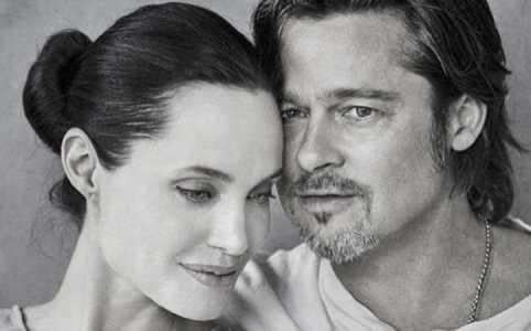 Развод в карте Девисона (Анджелина Джоли и Бред Питт), карта девисона, Джоли и Питт, астрология отношений