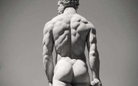 введение в астрологию, журнал астрология, натальная карта, зад Геракла, античная скульптура голый зад