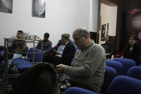 O parte din participanții la prezentare. Foto. Elisabeta Petrescu