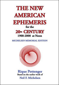 New American Ephemeris for the 20th Century 1900-2000 at Noon image