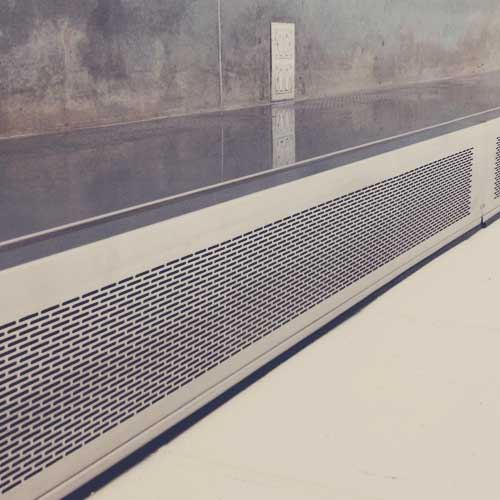 Garage Heater Installation Minneapolis Perforated Metal Gallery | Decorative Perforated Sheet
