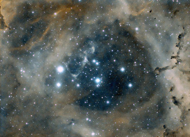 Rosette Nebula taken at Astrofarm France