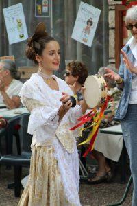 Dancer at Confolens festival