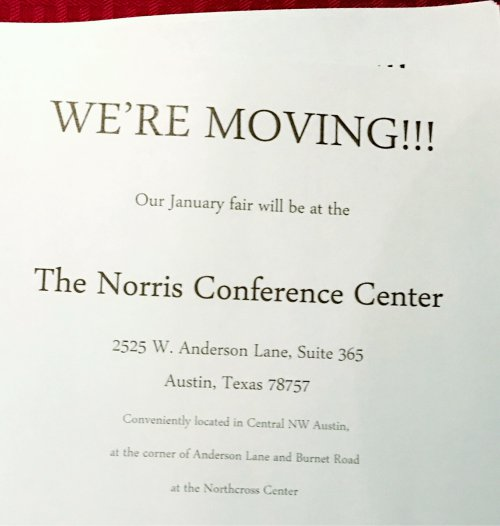 New Location in Austin