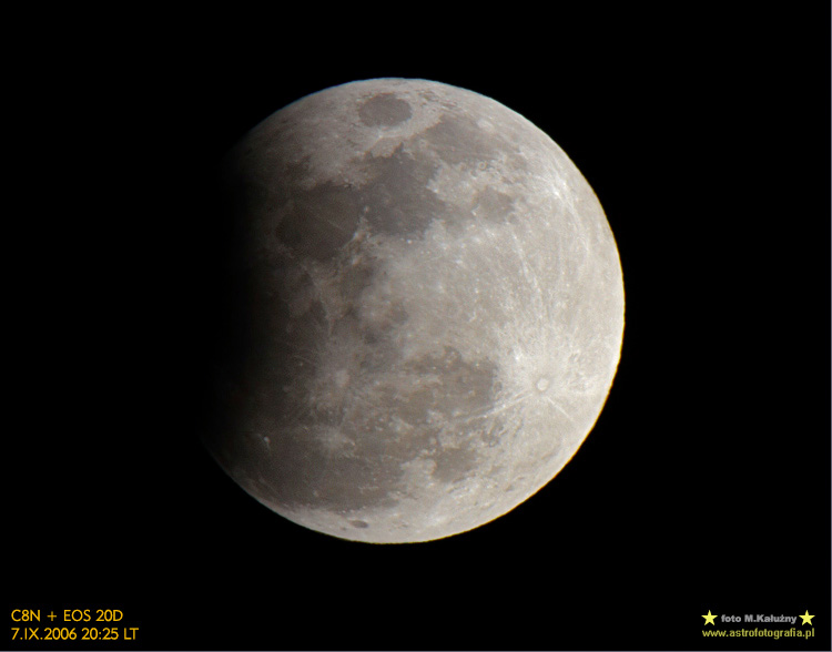 Zaćmienie Księżyca z roku 2006
