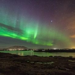 Alftavatn-aurora