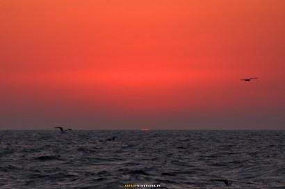 Zachód Słońca (w dzień zaćmienia)