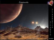 Immagine artistica di un esopianeta, o pianeta extrasolare. Nonostante sembri fantascienza, ad oggi gli scienziati hanno scoperto quasi 2000 pianeti che ruotano attorno a stelle anche molto lontane da noi. E se su qualcuno di questi ci fosse vita extraterrestre?