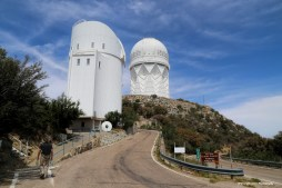 To the top of Kitt Peak