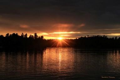 Sunsets on Golden Pond;)