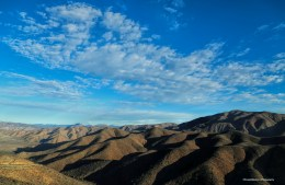 the endless layers of hills
