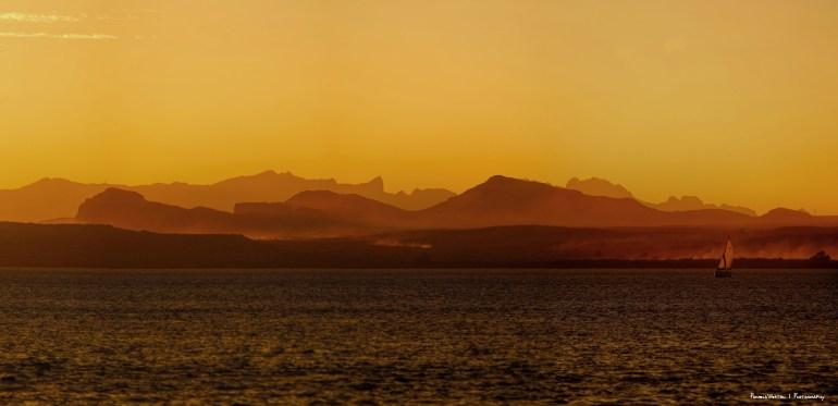 Sunset at Lake Havesu