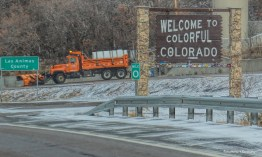 Welcome to Colorado...snowplows