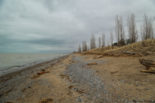 Stormy skies over Lake Huron