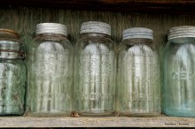 Jars galore, millions of them I think