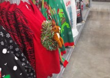OMG, a reindeer leaping out of your gut! That is Xmasy;)