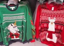 Mmmm, the Santa Unicorn or the the Lllama?