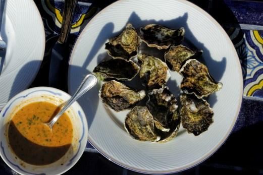 Oysters from El Garo
