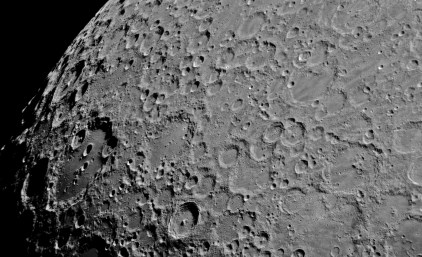 Clavius and the moon's South pole