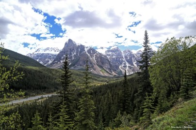 Valley of the Ten Peaks and the Moraine River