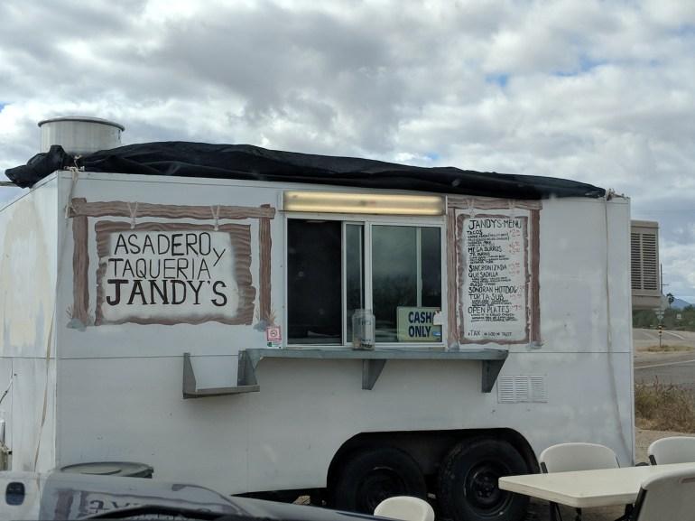 Jandy's delicious tacos!