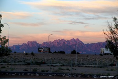 Beautiful view in Las Cruces...but that interstate:(