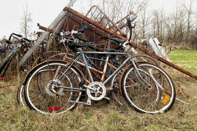 Where old bikes go to be reborn