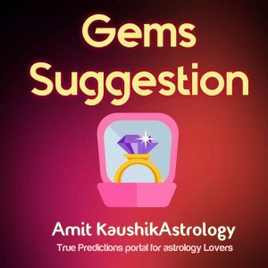 Astrological Gem Suggestion