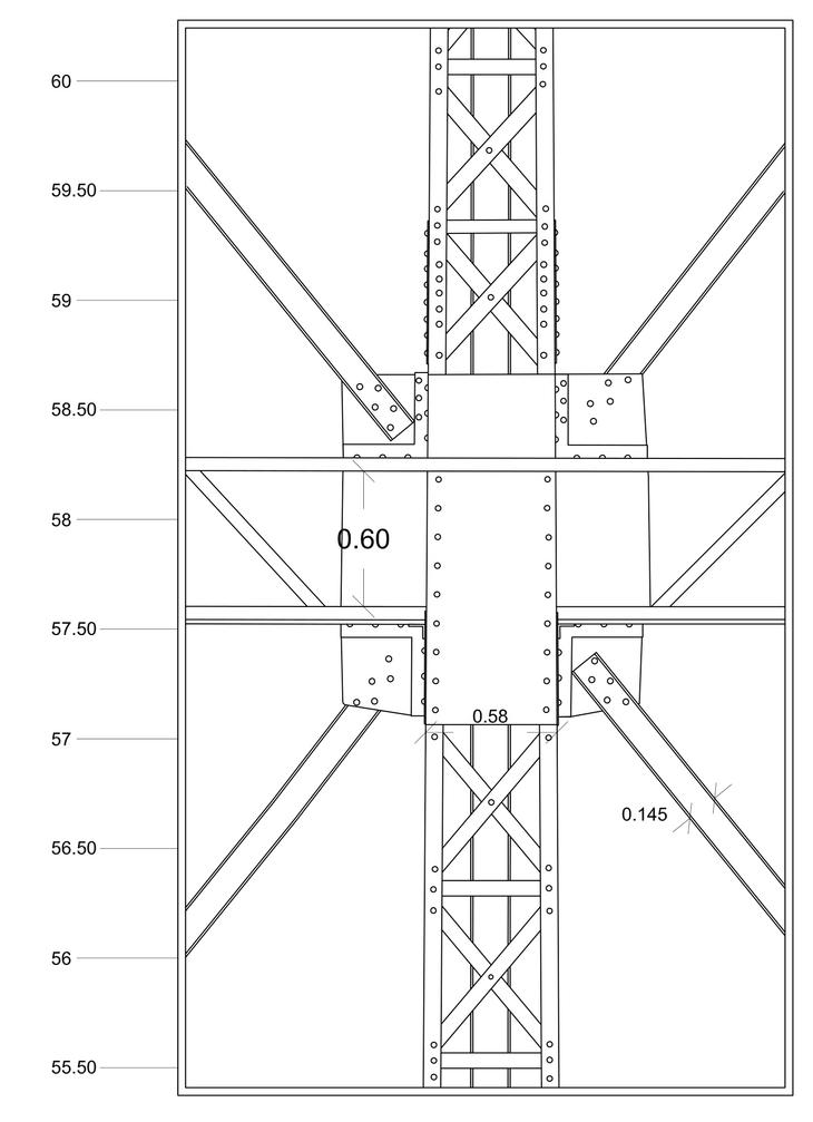 Historic Gasholder 3D Documentation detail