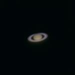 De planeet Saturnus