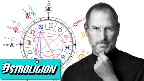 steve job's birth chart