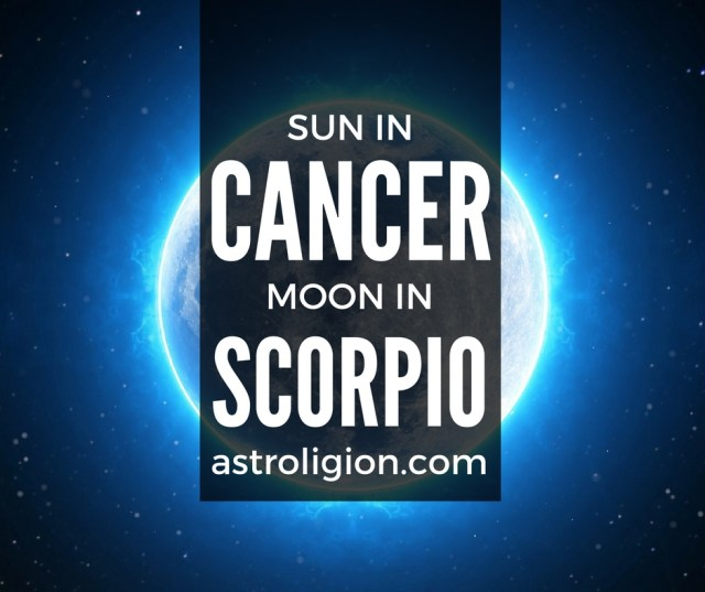 cancer sun scorpio moon