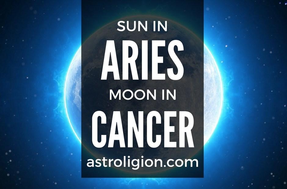 Aries Sun Cancer Moon