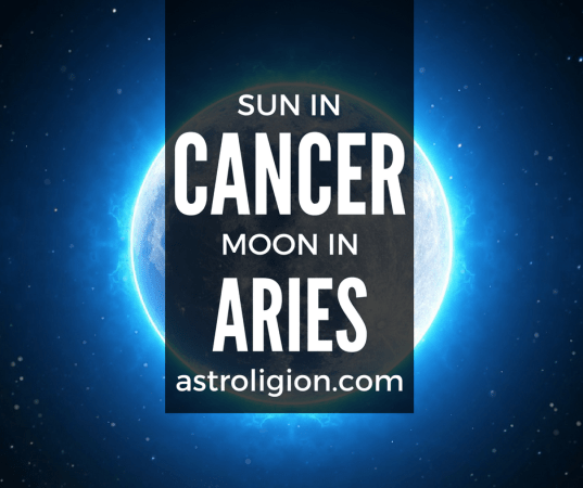Cancer Sun Aries Moon Personality