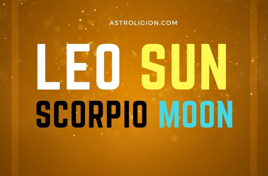 Leo Sun Scorpio Moon