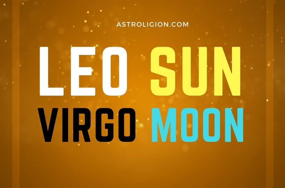 Leo sun Virgo Moon