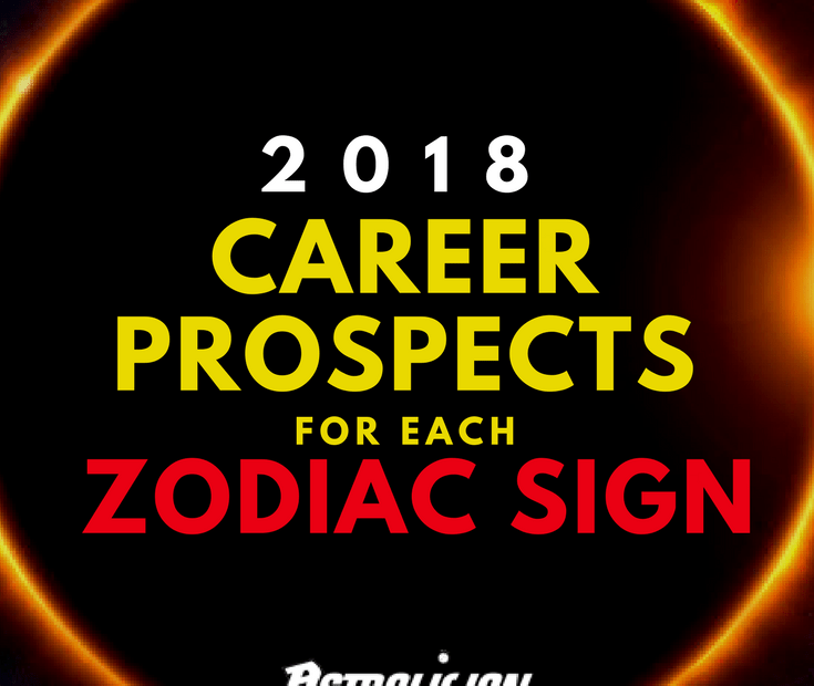 career prospects in 2018 for each zodiac sign
