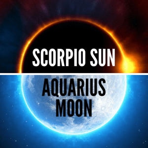 Scorpio Sun Aquarius Moon