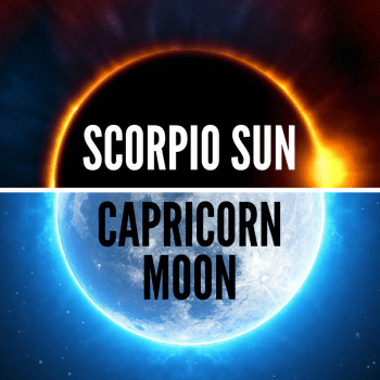 Scorpio Sun Capricorn Moon