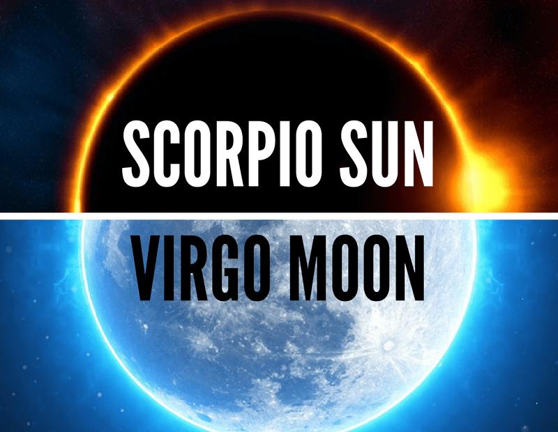Scorpio Sun Virgo Moon