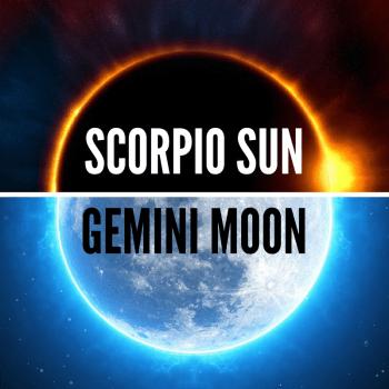 Scorpio sun Gemini moon