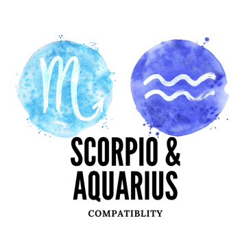 Scorpio and aquarius
