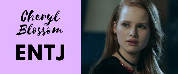 Cheryl Blossom MBTI - ENTJ
